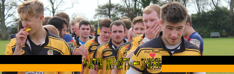 Match reports for the 2nd XV