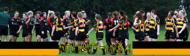 Match reports for the Ladies XVs