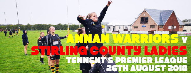 Annan Warriors v Stirling County Ladies: Match Highlights